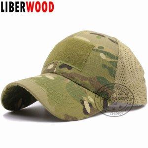 878ea969ad450 LIBERWOOD ACU Multicam Operator Hat Special Force Camo Mesh Cap Airsoft Hat  for Men Tactical Contractor Army Baseball caps Hat