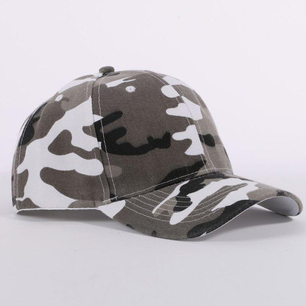 5548c8e9b2d New Men Women Camouflage Half Mesh Army Baseball Cap Desert Jungle ...