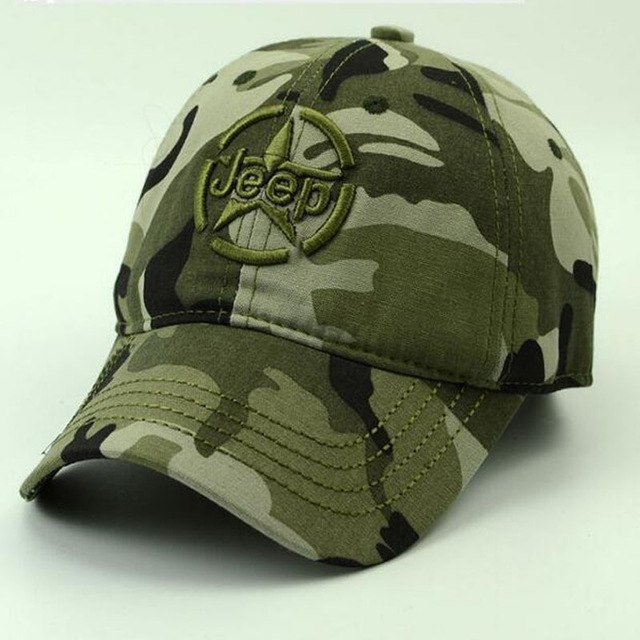 Spring Summer Mens Army Camouflage Camo Cap Cadet Casquette Desert ... 4051c66aaa1