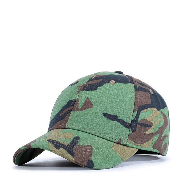 1e210261166 Yienws Dad Hats Camouflage Baseball Caps for Men Bone Army Green ...