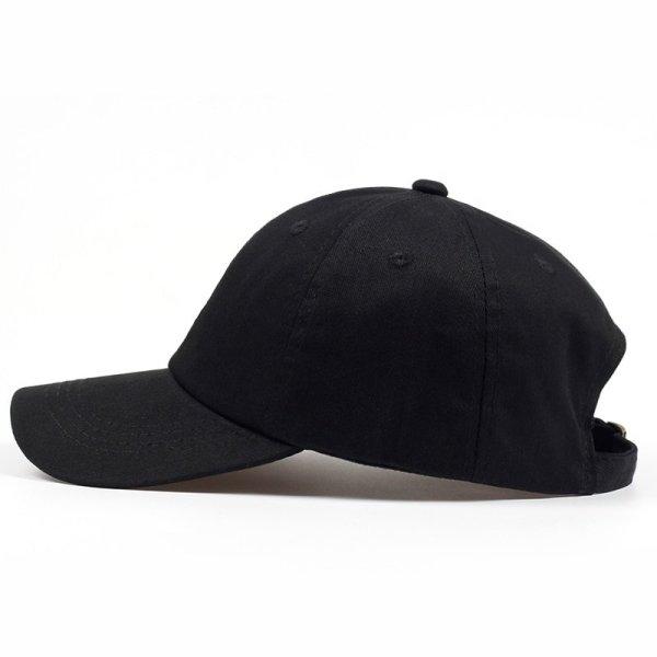 100% Cotton Japanese Anime Naruto Dad Hat Uchiha Family Logo Embroidery Baseball Caps Black Snapback Hat Hip Hop for Women Men 6