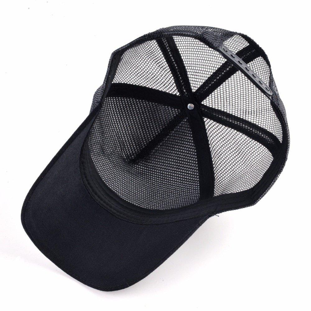 Men Women COCK Embroidery Animal Baseball Caps Mesh Snapback Caps Unisex Sun Hat