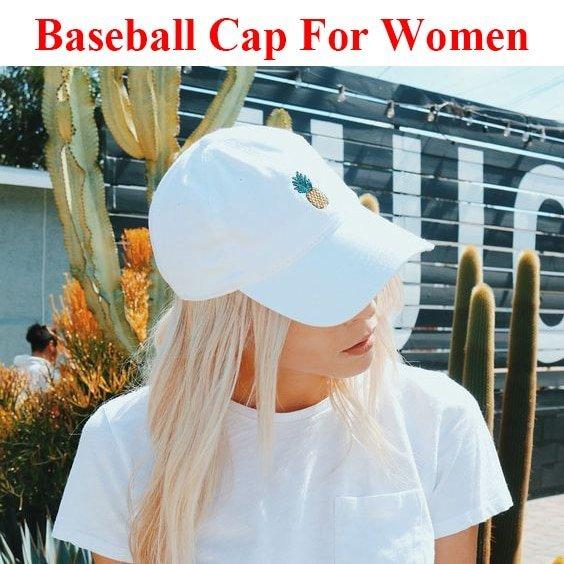 Baseball Cap Women Men Pineapple Embroidery dad hat Trucker Fashion Unisex Snapback hip hop cap Summer Hats Streetwear casquette 2