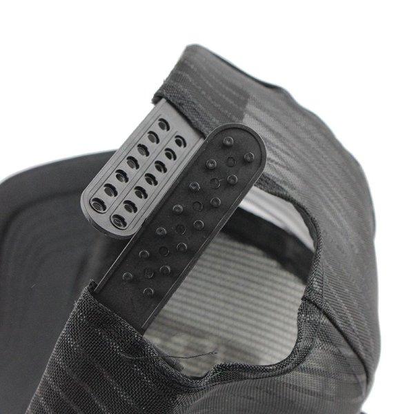 [FLB] 2019 Hip Hop Black leopard Print Curved Baseball Caps Summer Mesh Snapback Hats For Women Men casquette Trucker Cap 12