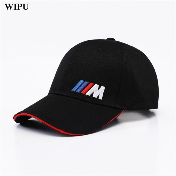 Men Fashion Cotton Car logo M performance Baseball Cap hat for bmw M3 M5 3 5 7 X1 X3 X4 X5 X6 330i Z4 GT 760li E30 E34 E36 E38 2