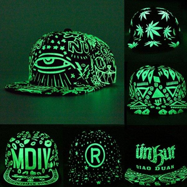 2020 New Fashion Fluorescence Baseball Cap Women Men Snapback Caps Luminous Gorras Sport Casquette Hip Hop Cap Hat Drop Shipping 1