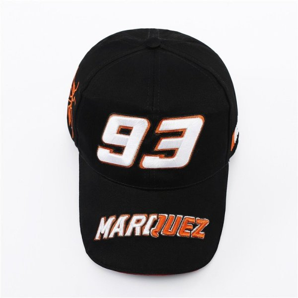 New Snapback Caps Wholesale  Embroidery Baseball Cap Hat Motorcycle Racing 93 Baseball Cap For Men 8