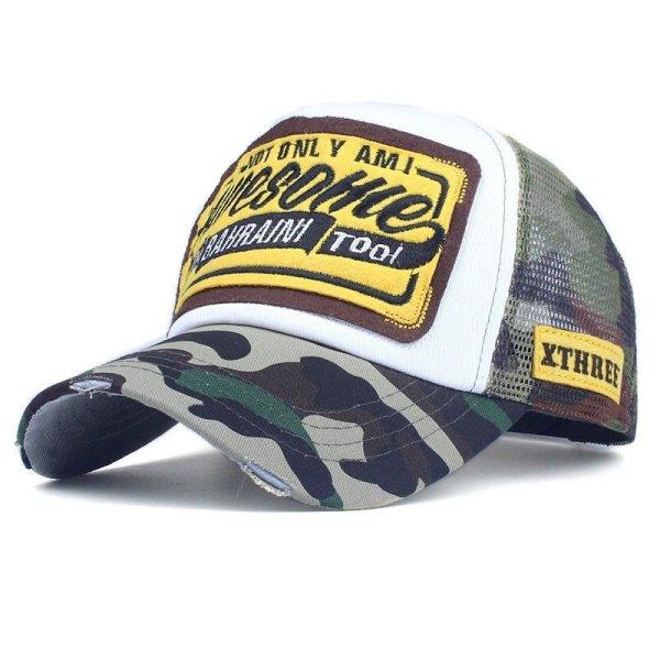Xthree Summer Baseball Cap Embroidery Mesh Cap Hats For Men Women Snapback Gorras Hombre hats Casual Hip Hop Caps Dad Casquette 10