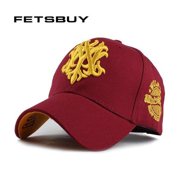 FETSBUY 1Piece Baseball Cap Men Fitted Adjustable Casquette leisure hats men's Snapback Gorras accessories Baseball Caps 2