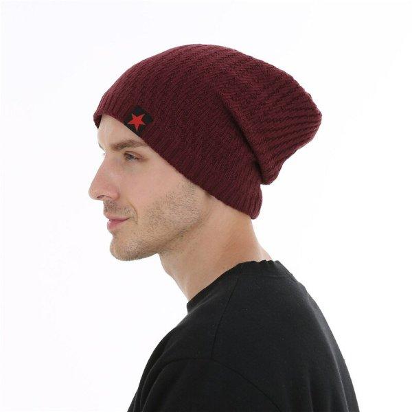 FETSBUY Winter Hats Skullies Beanies Hat Winter Beanies For Men Women Wool Scarf Caps Balaclava Mask Gorras Bonnet Knitted#19007 10