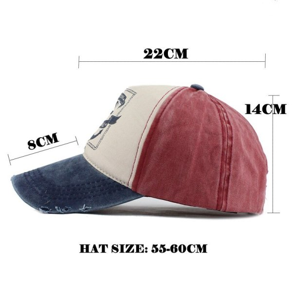 FETSBUY wholesale Cotton Wash Baseball Cap Vintage Casual Hat Snapback Truck New For Adult Adjustable Cap gorras Brand Fitted 8