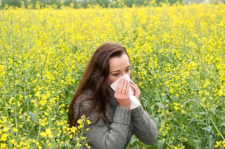 Capsinol hay fever fights the symptoms