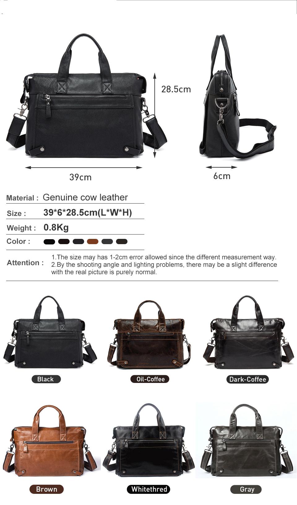 1 men bag leather