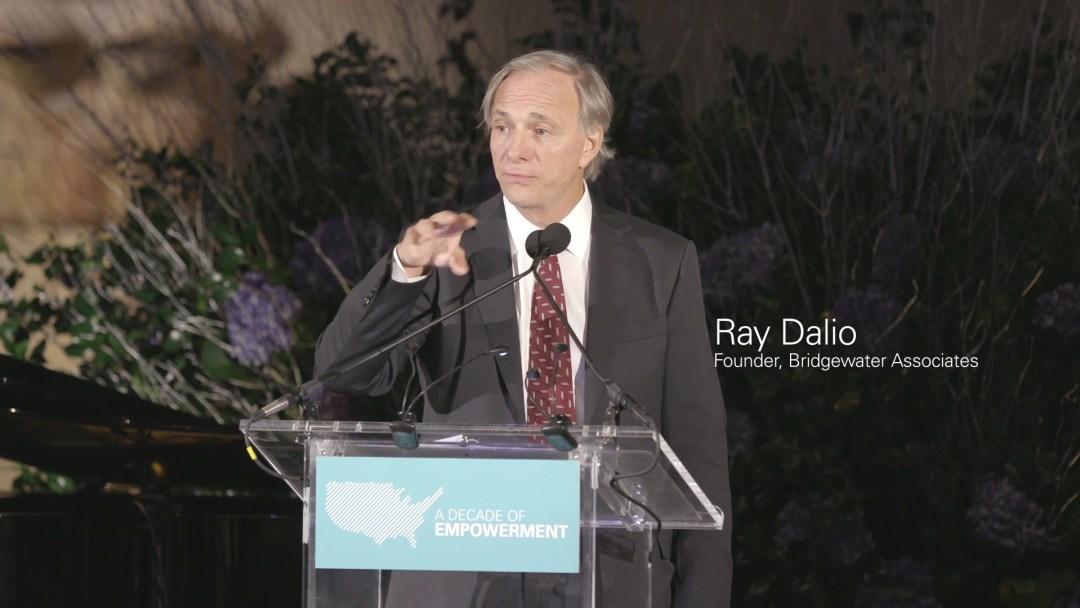 Ray Dalio tritt aktuell häufig in der Öffentlichkeit auf.