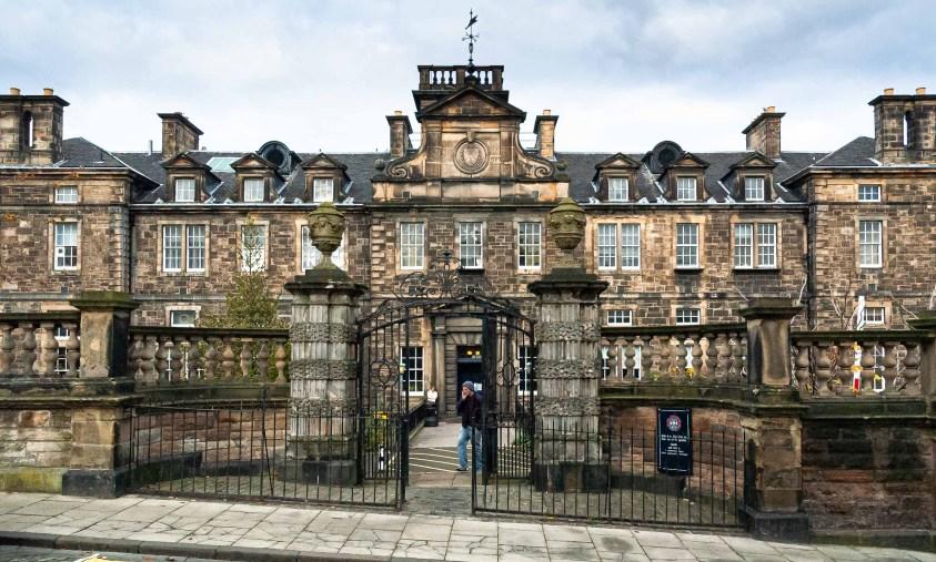 University of Edinburgh, School of GeoSciences, Institute of Geography, 2007. Image courtesy of Matthew Enger.