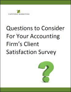 Client Survey Questions-March 2015
