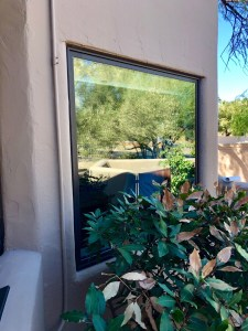 bronze picture window