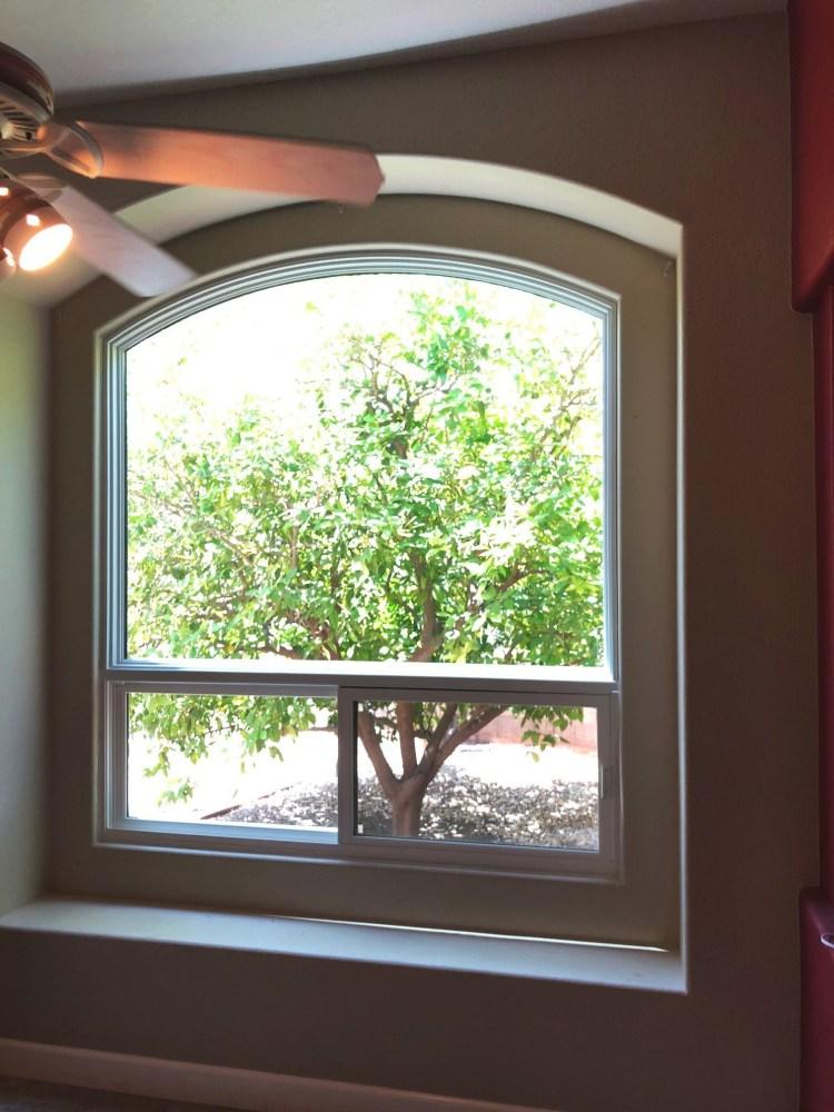 infinity shaped replacement window in phoenix az 1
