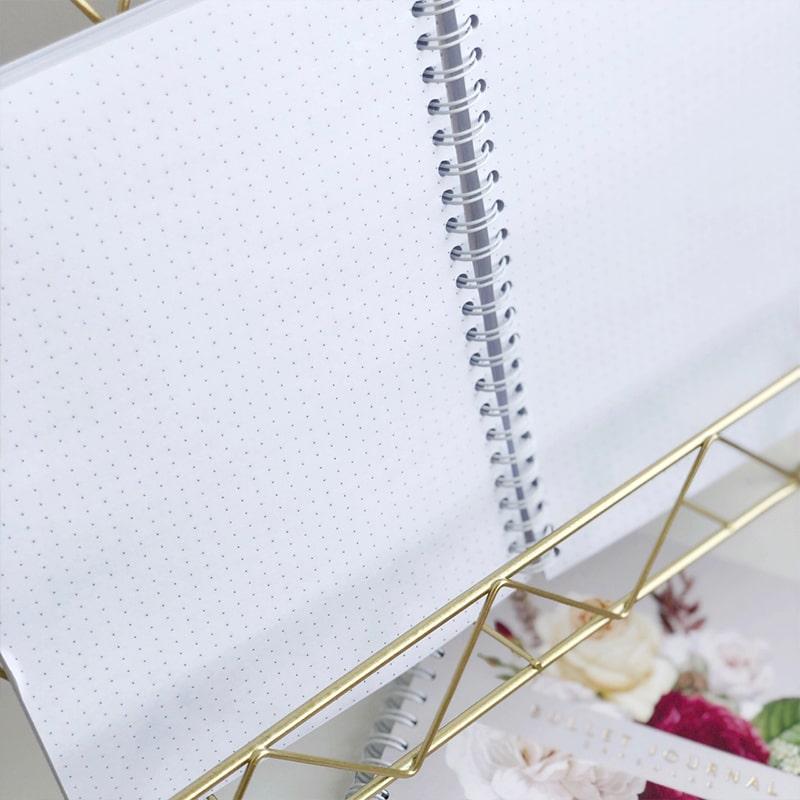 Bullet Journal серый Capsular Card блокнот