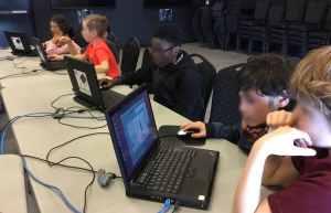 lapucemobile.com, atelier Scratch lors de la semaine Pop NumériQC de Québec à la Bibliothèque Monique Corriveau.