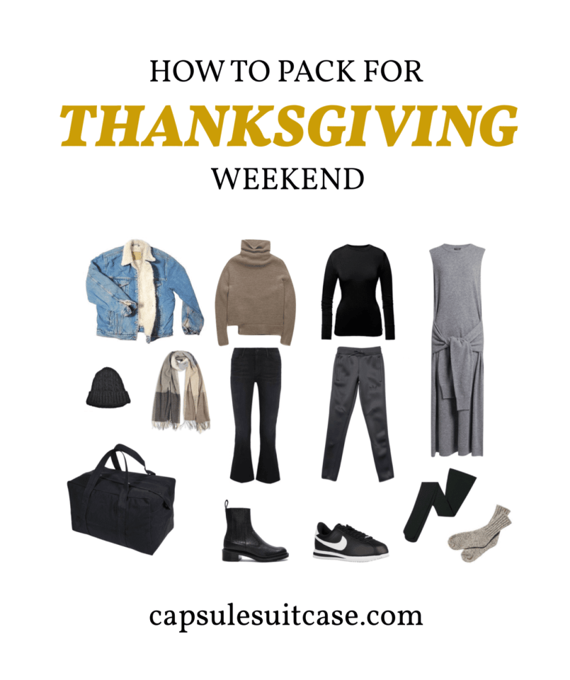 how to pack for thanksgiving