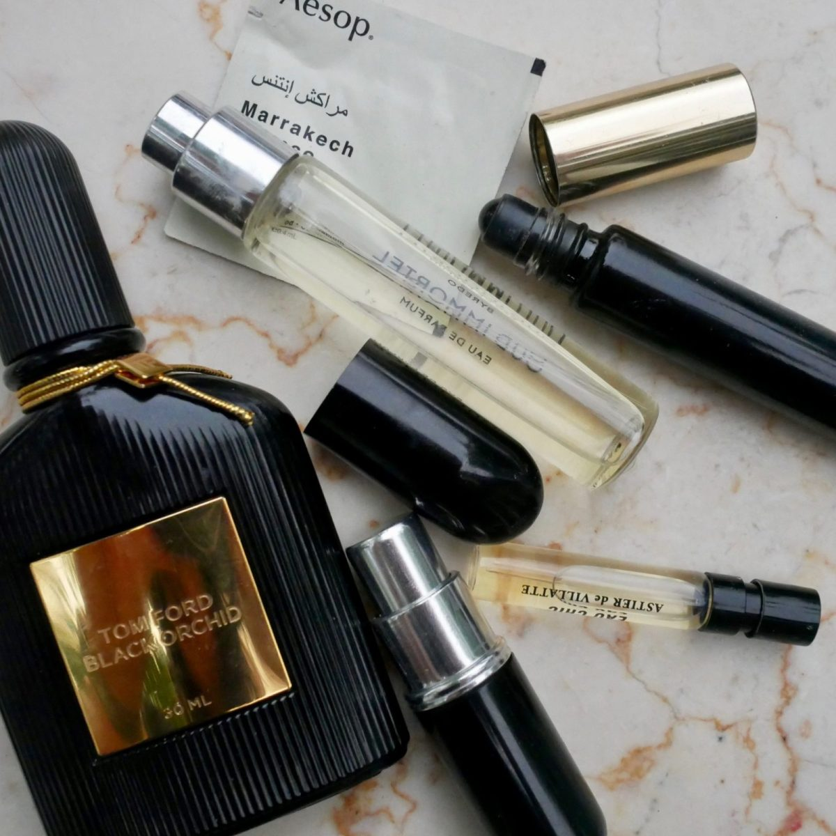 How to Travel with Perfume