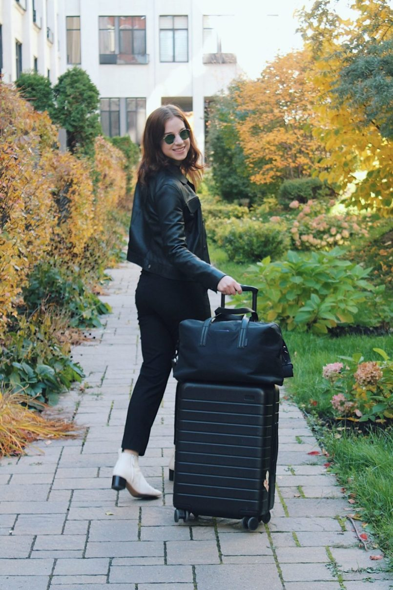 how to pack for a business trip and be comfortable the capsule