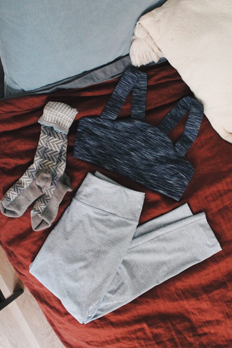 yoga gear for travel
