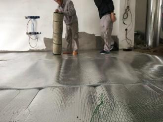 Ưu điểm của hệ thống sưởi sàn nhà hồng ngoại