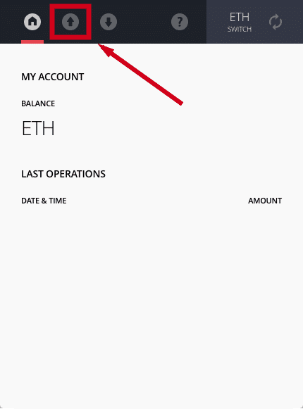 Ethereum wallet balance