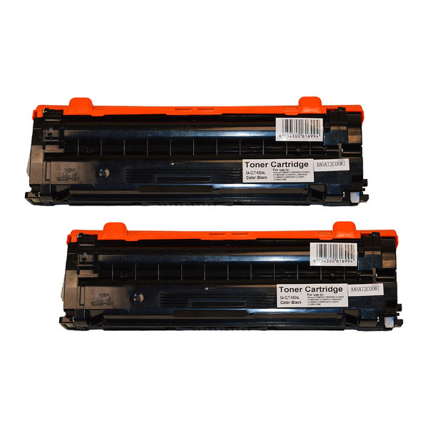 Samsung CLT-K506L Black Premium Generic Remanufactured Toner Cartridge x 2