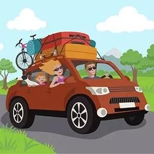 Summer Family Car Vacation