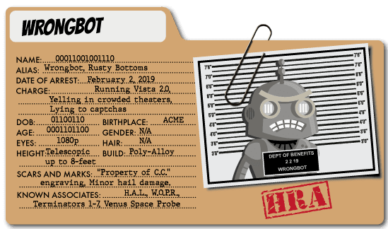 Wrongbot - Healthcare Expenses Villain
