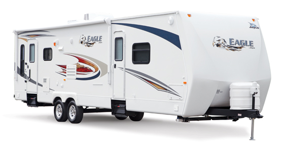 4 New RV Traliers with Slides