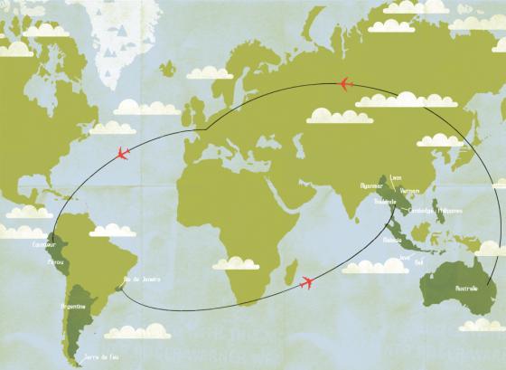carte itineraire