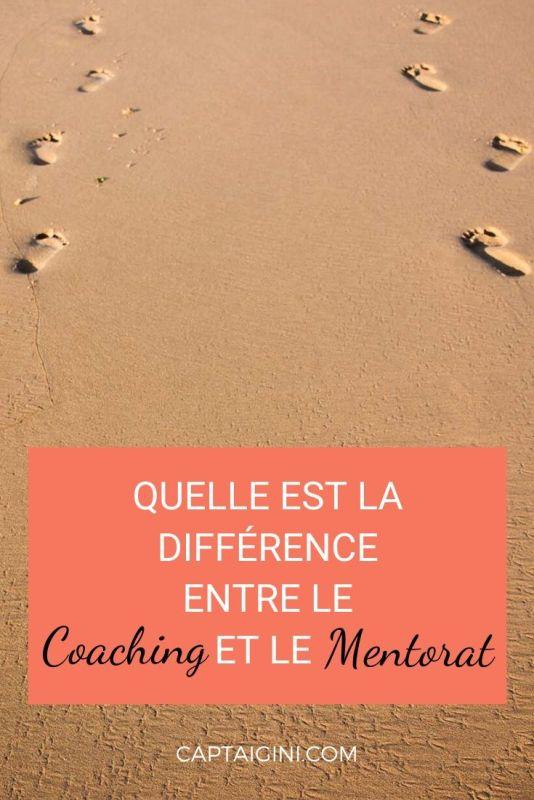 Quelle est la différence entre le coaching et le mentorat captain gini 2