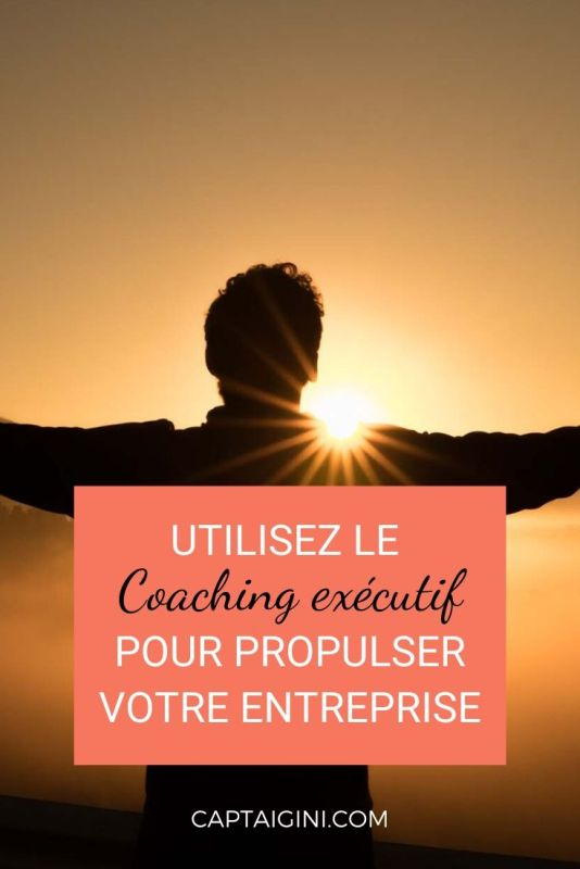 Utilisez le coaching exécutif pour propulser la performance de votre entreprise captaingini.com