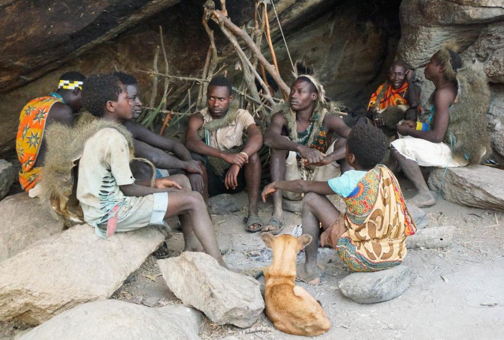 #tribe of #Hadzabe #men