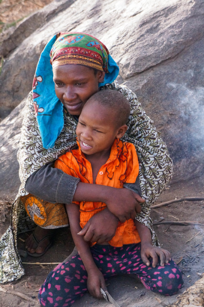 #Hadzabe #woman and her #child