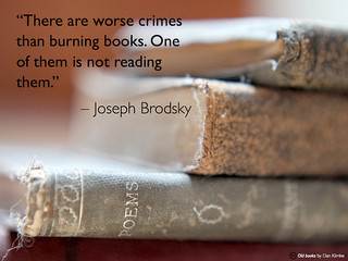 Worse crimes than burning books