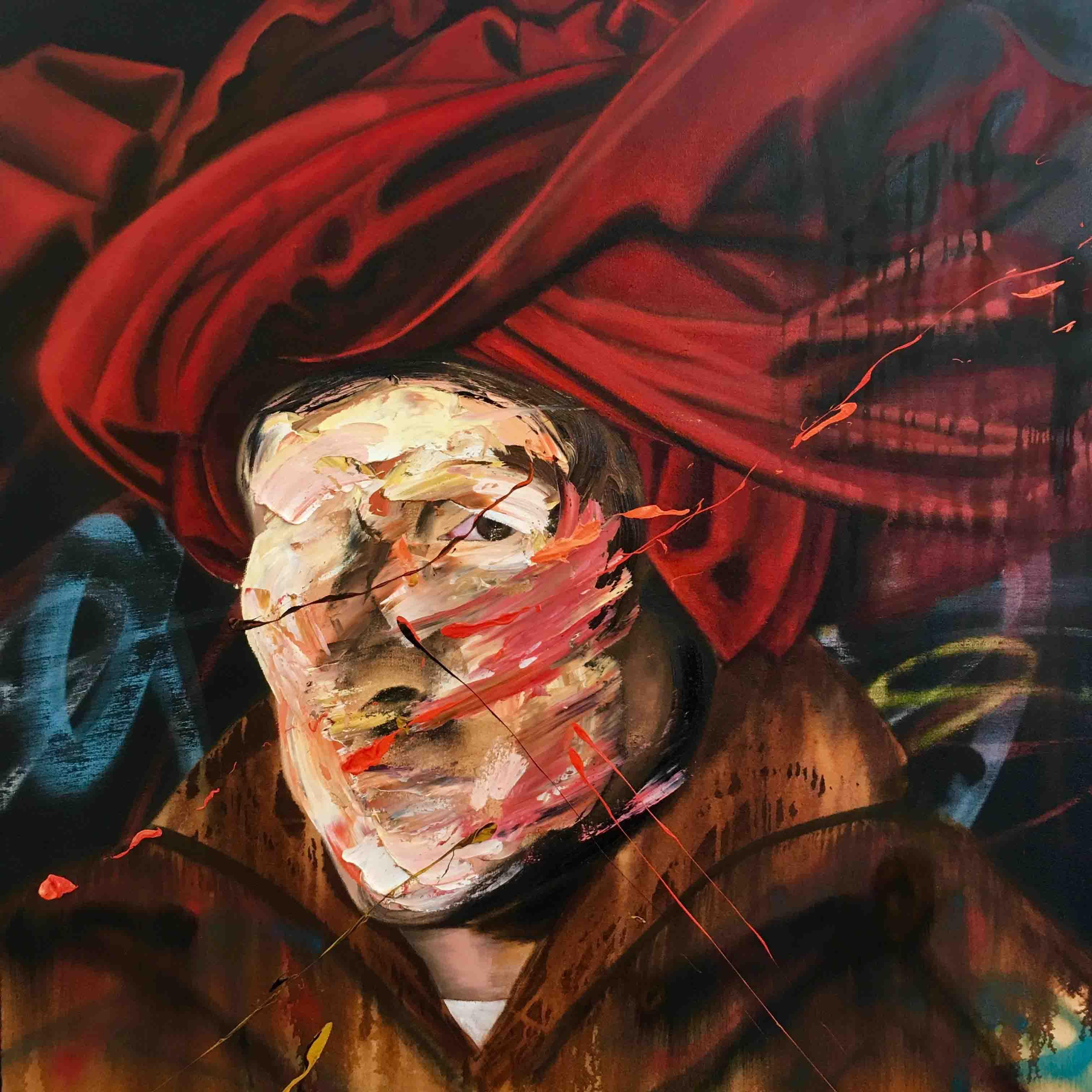 After van Eyck, 110 cm x 110 cm