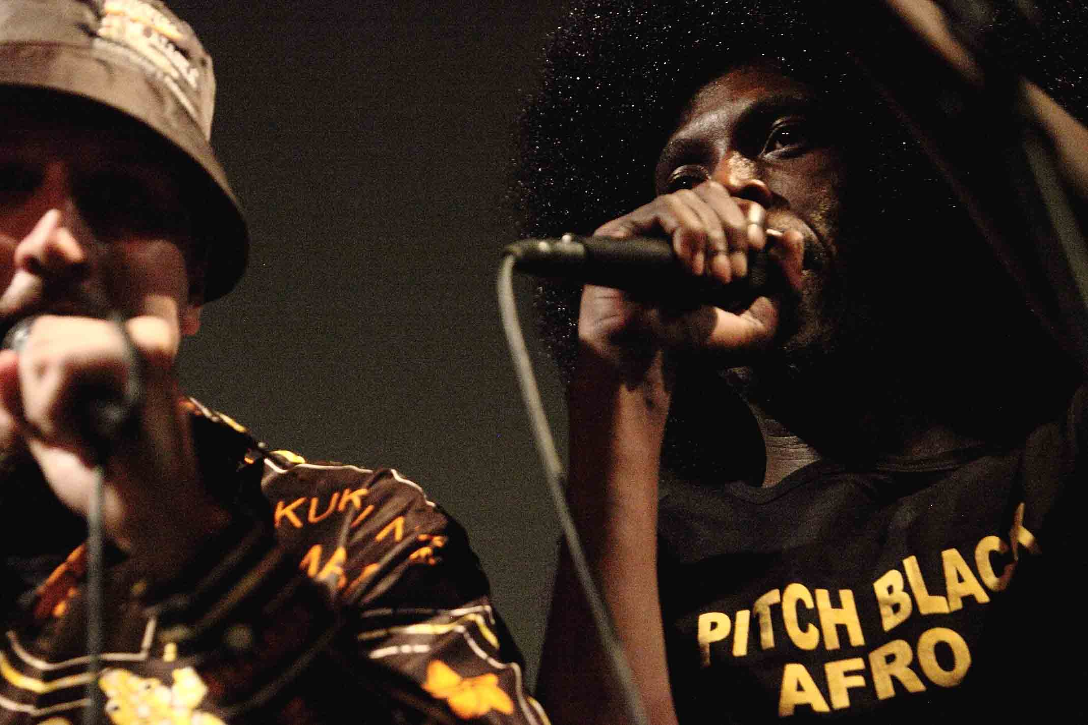 Bombshelter Beast - Pitch Black Afro & Pulesmall