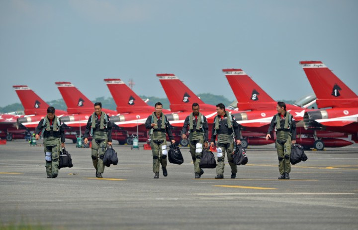 How does the RSAF train their pilots?