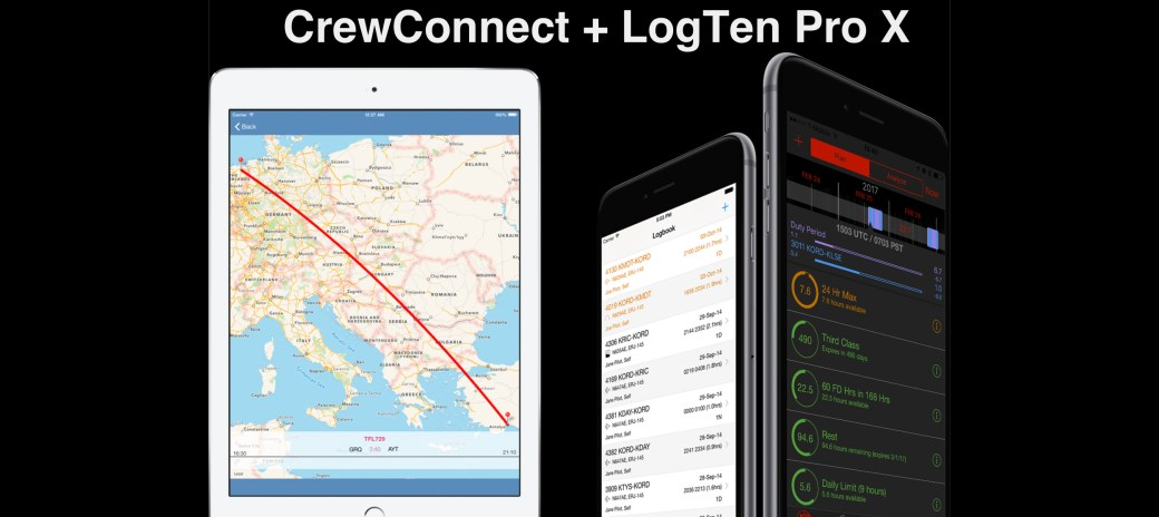 How I use CrewConnect with LogTen Pro X