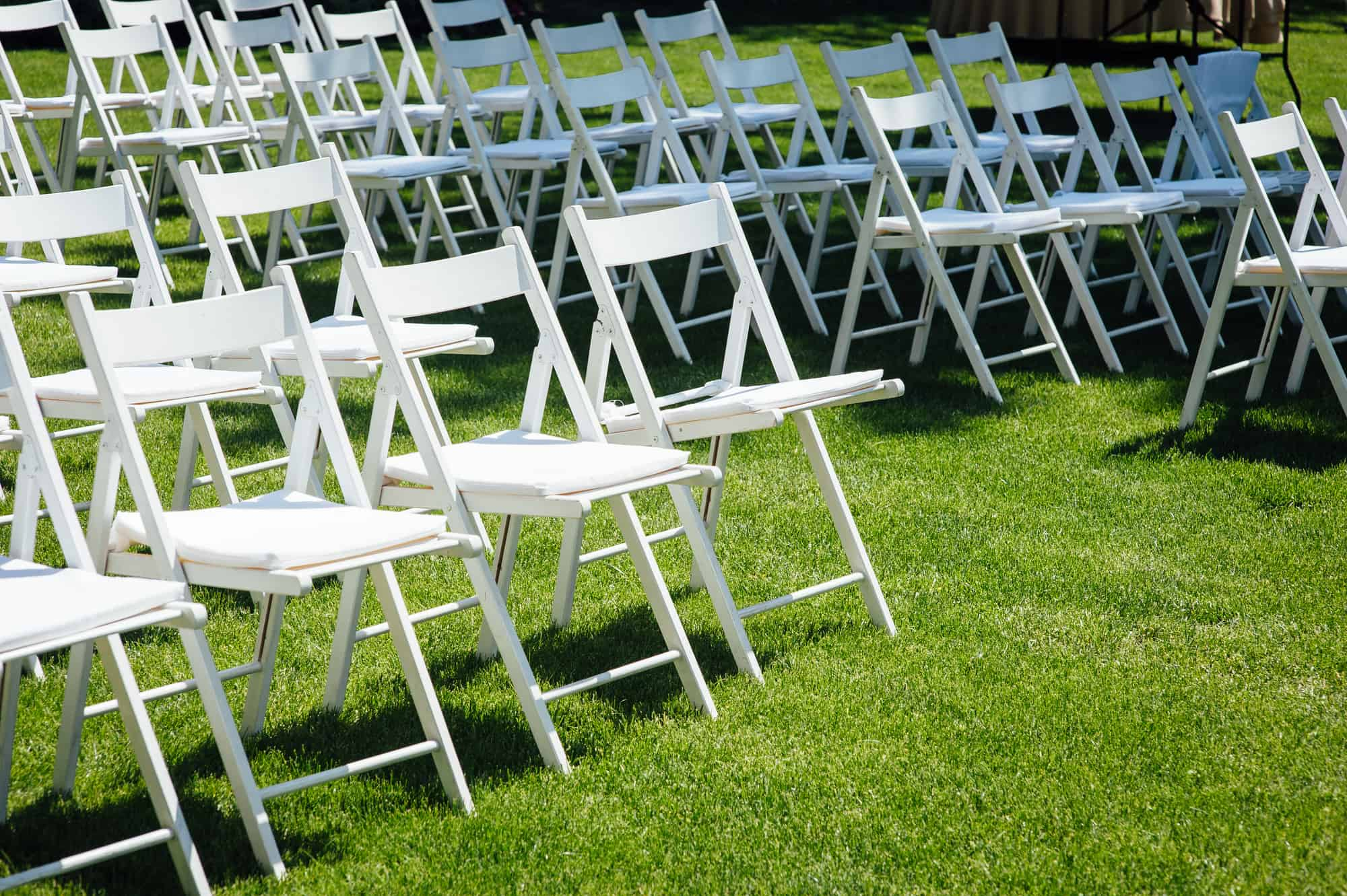how to stop outdoor chairs from sinking