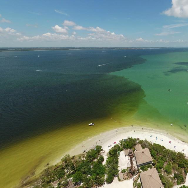 Lake Okeechobee discharges