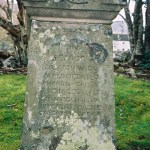 Gravestone in Kinloch Rannoch church yard - Hugh MacDONALD ... wife Christian ROBERTSON