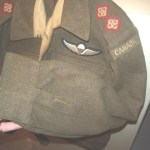 FSSF uniforms and those worn by Canadians who had been in the FSSF.