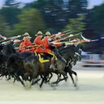 2013-08-24 The RCMP Musical Ride Charge
