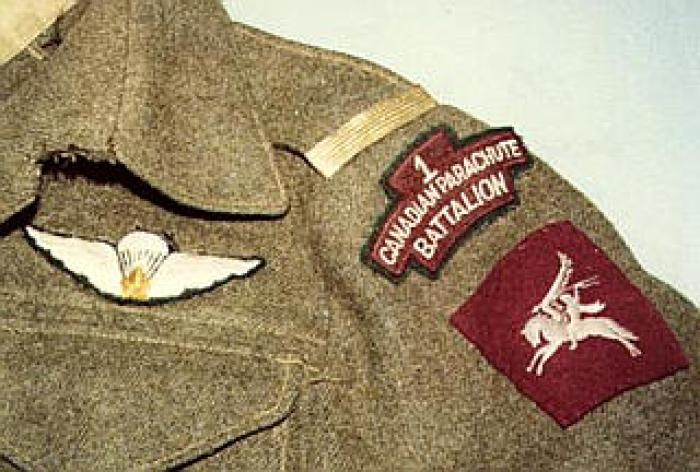 1Canadian Parachute Battalion uniforms, ideally with name of veteran so it can be researched.